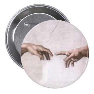 Creación de Adán (detalle-manos) Pins