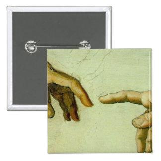 Creación de Adán (detalle-manos) Pin