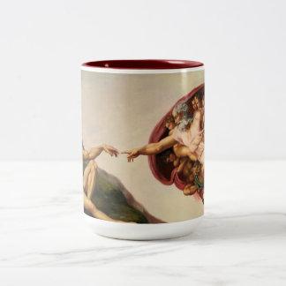 Creación de la taza de café de Adán