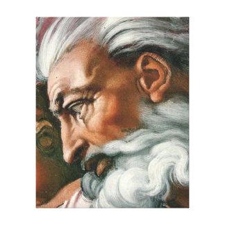 Creación de Miguel Ángel de Adán Lienzo Envuelto Para Galerias