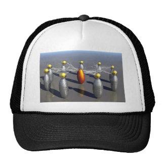 creación del número 10 gorras