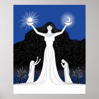 Creación del poster de Sun y de la luna