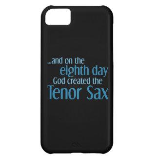 Creación del saxo tenor funda para iPhone 5C
