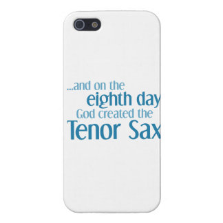 Creación del saxo tenor iPhone 5 fundas