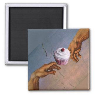 creación-manos, magdalena imán cuadrado