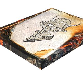 Creaciones ardientes - lona impresa impresión en lienzo estirada