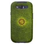 Creaciones concretas verdes de la EC Galaxy S3 Fundas
