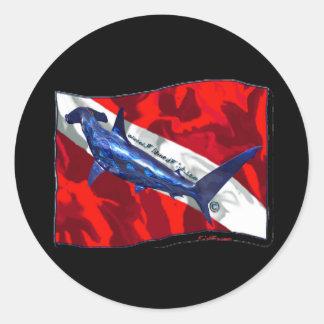Creaciones de la bandera de DiverDown Etiquetas