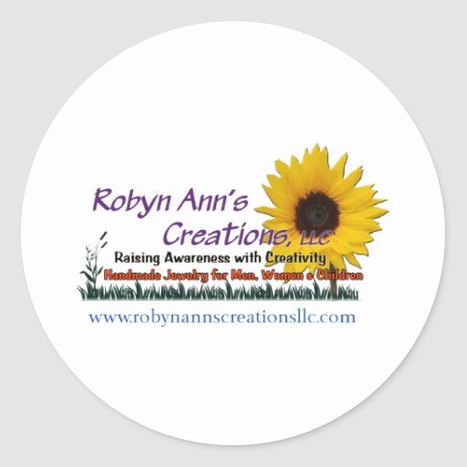 Creaciones de Robyn Ana, LLC Pegatina Redonda