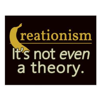 Creacionismo No es incluso una teoría Postal