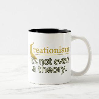 Creacionismo No es incluso una teoría Tazas De Café