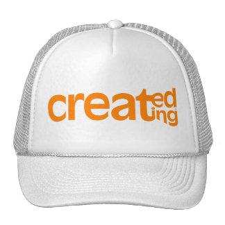 Creado, creando el gorra del camionero