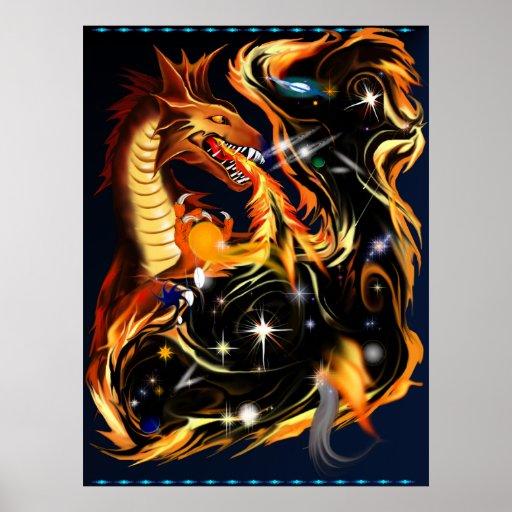 Creador del poster de las galaxias