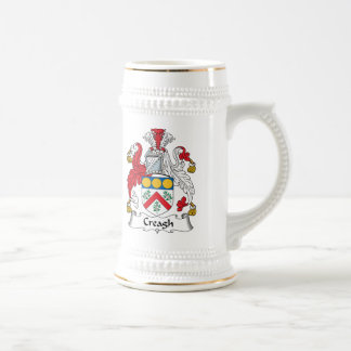 Creagh Family Crest 18 Oz Beer Stein