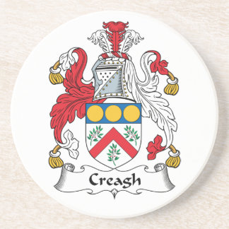 Creagh Family Crest Drink Coasters