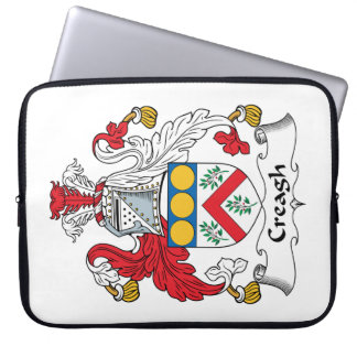 Creagh Family Crest Laptop Computer Sleeve