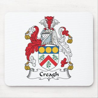 Creagh Family Crest Mouse Pad