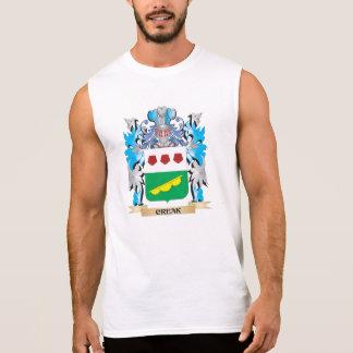 Creak Coat of Arms - Family Crest Sleeveless Shirts