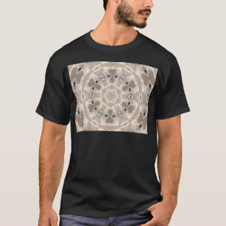 cream and beige cafe au lait abstract art T-Shirt