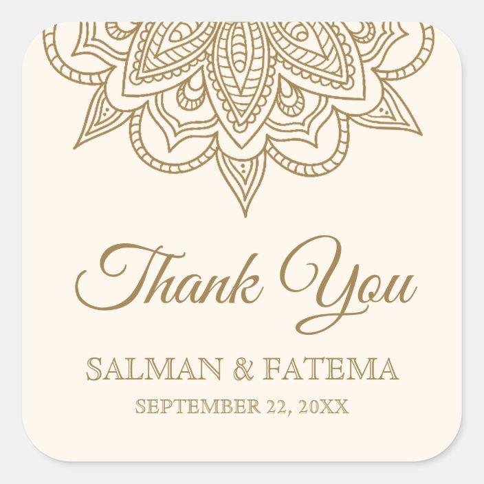 WEDDING CREAM /& GOLD GLOSS SEALS CELEBRATION,THANK YOU LABELS 4 SIZES