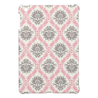 cream and grey tan damask bliss case for the iPad mini