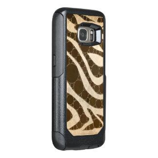 Cream and Sugar Zebra OtterBox Samsung Galaxy S7 Case