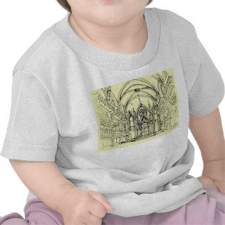 Cream Angel Gothic NYC T-shirts