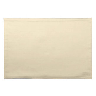 Cream Beige Background on a Placemat