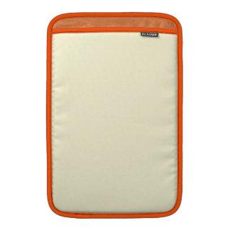 Cream Beige MacBook Sleeve
