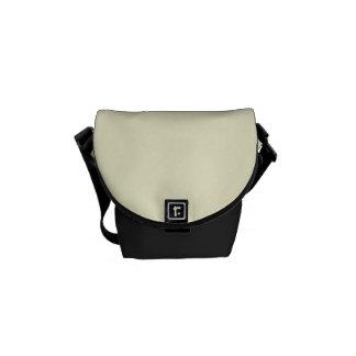 """Cream Beige"" Messenger Bags"