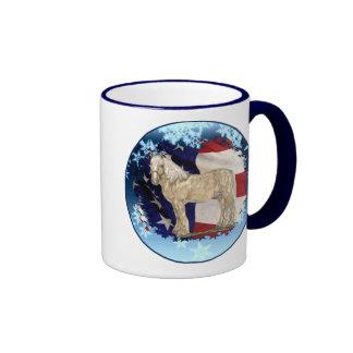 Cream Christmas Mug