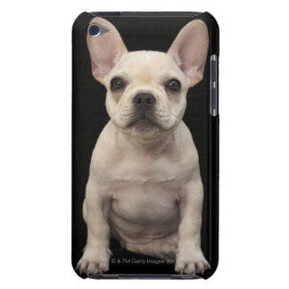 Cream colored French Bulldog puppy Barely There iPod Case