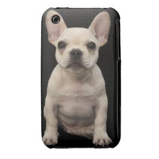 Cream colored French Bulldog puppy iPhone 3 Case