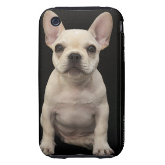 Cream colored French Bulldog puppy Tough iPhone 3 Case