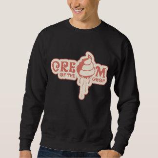Cream Crew neck sweater! Pullover Sweatshirt