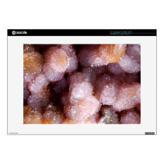 Cream Crystal Mineral Stone Laptop Decal