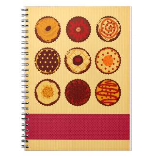 Cream Cupcake Note Book