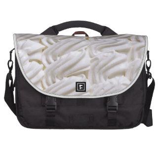 Cream decoration laptop bag