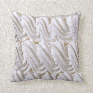Cream decoration throw pillow