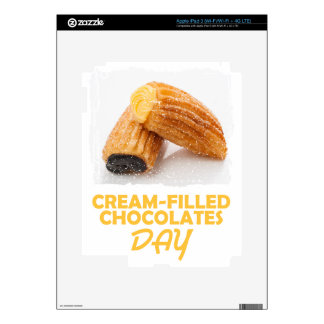 Cream-Filled Chocolates Day  - Appreciation Day iPad 3 Decal