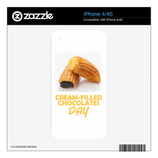 Cream-Filled Chocolates Day  - Appreciation Day iPhone 4 Skin