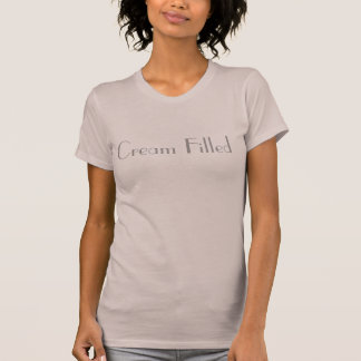 Cream Filled Double Meaning funny T-shirt design