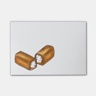 Cream Filled Snack Cake Junk Food Twinkie Post Its Post-it Notes