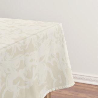 Cream Fleury Tablecloth