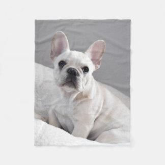 Cream Frenchie Blanket