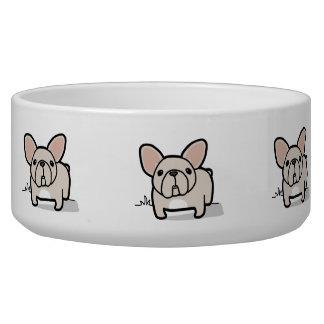Cream Frenchie Bowl