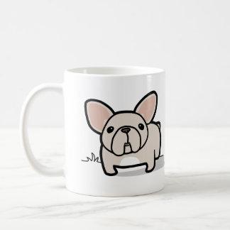 Cream Frenchie Classic White Coffee Mug