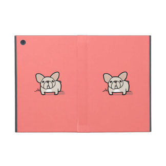 Cream Frenchie Cover For iPad Mini