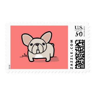 Cream Frenchie Postage