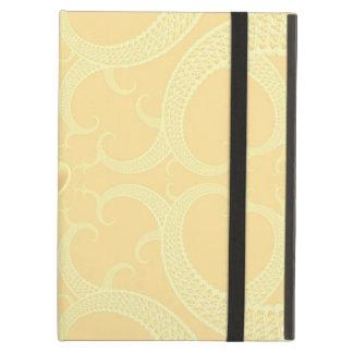 Cream Heart Fractal Pattern iPad Air Case